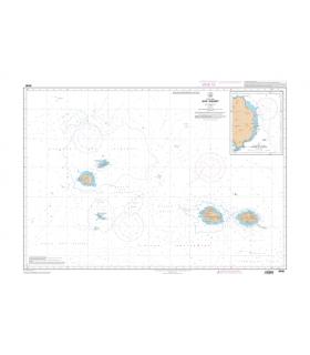 6498 - Iles Crozet - Carte marine Shom