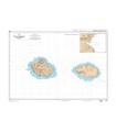 6497 - Ile de la Possession, île de l'Est - Carte marine Shom