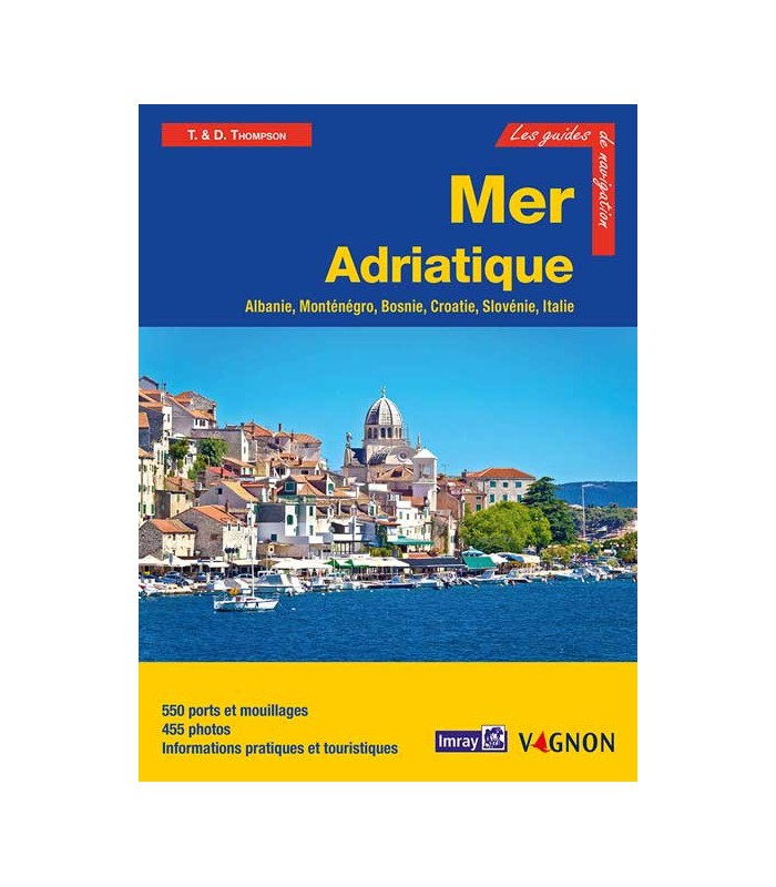 Guide Imray Mer Adriatique