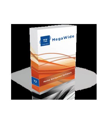 TZ Navigator Mega Wide V3 -  Logiciel de navigation Timezero Maxsea