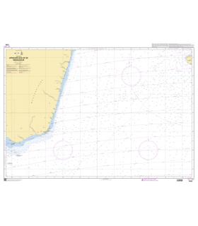 7489 - Approches Sud-Est de Madagascar - Carte marine Shom papier