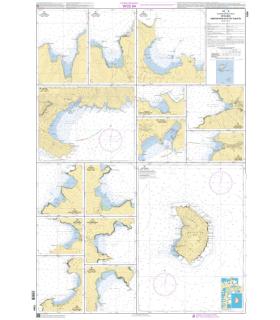 7354 - Fatu-Hiva, Baies de Hiva-Oa et de Tahuata - carte marine Shom papier