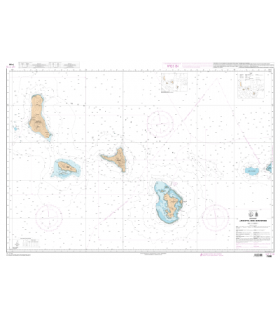 7490 - Archipel des Comores - Carte marine Shom numérique
