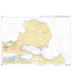 7540 - Du Cap Drépanon au Port de Chaniá - Carte marine Shom