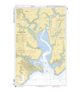 7794 - De Falmouth à Truro - Carte marine Shom