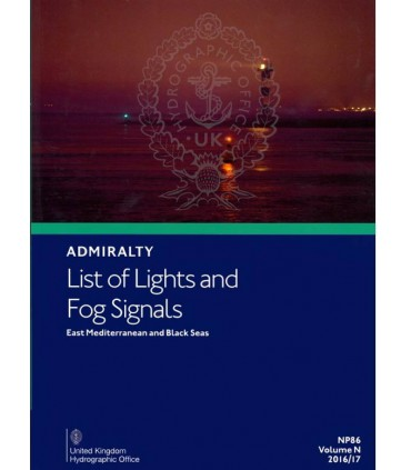 Admiralty List of Lights and Fog Signals East Mediterranean and Black Sea