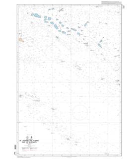 7347 - De l'Archipel des Tuamotu aux Iles Australes - Carte marine Shom papier
