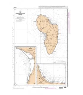 6165 - Rurutu - Carte marine Shom papier