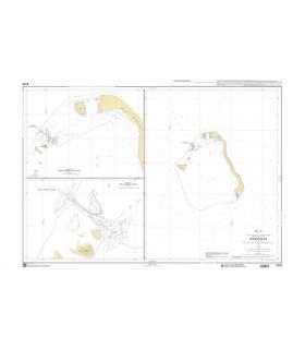 6176 - Maupihaa (Maupélia) - Carte marine Shom papier