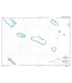 7261 - De Fakarava à Makemo - carte marine papier