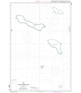 7262 - De Makemo à Marutea Nord - carte marine papier
