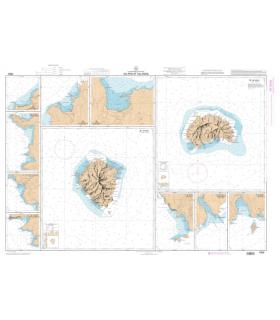 7353 - Ua-Pou et Ua-Huka - carte marine Shom papier