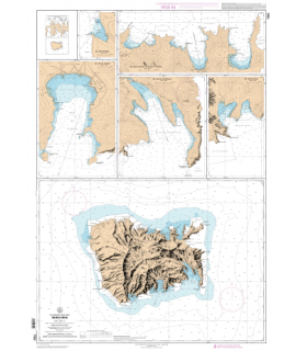 7352 - Nuku-Hiva - carte marine Shom papier