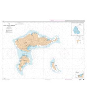 7355 - Hiva-Oa, Tahuata et Mohotani- carte marine Shom papier