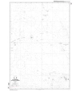 7368 - De l'Ile Malden aux Iles de la Société - carte marine Shom papier