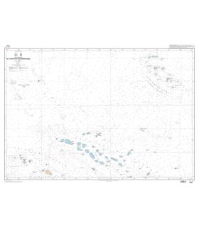 7371 - De Tahiti aux îles Marquises - carte marine Shom papier