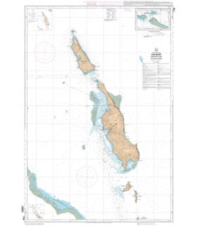 7758 - Îles Belep - Carte marine Shom papier