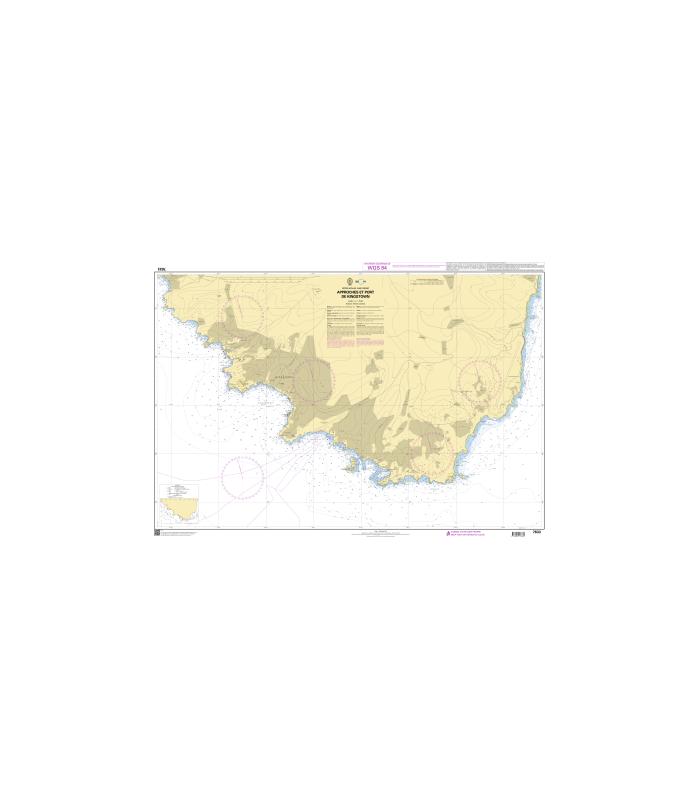 7633 L - Petites Antilles - Approches et Port de Kingstow
