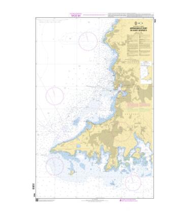7632 L - Petites Antilles - Approches et Port de Saint George's