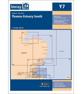 Y7 - Thames Estuary South - Carte marine Imray