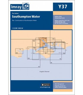 Y37 - Southampton Water - Carte marine Imray