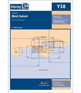 Y38 - West Solent - Carte marine Imray