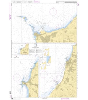 7514 - Ports du Liban - Carte marine Shom