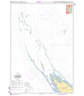 7760 - Nouvelle-Calédonie (partie Nord) - carte marine Shom