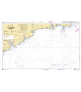 7077 - De Old Head of Kinsale à Tuskar Rock - Carte marine Shom papier