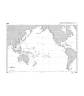5438 - Océan Pacifique - carte marine Shom papier