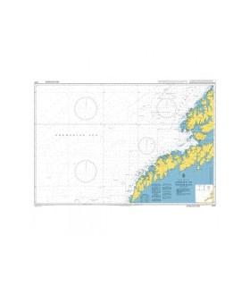 2328 Lofoten to Vesteralen - Carte marine papier