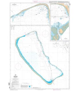 7372 - Fakarava - Carte marine Shom papier