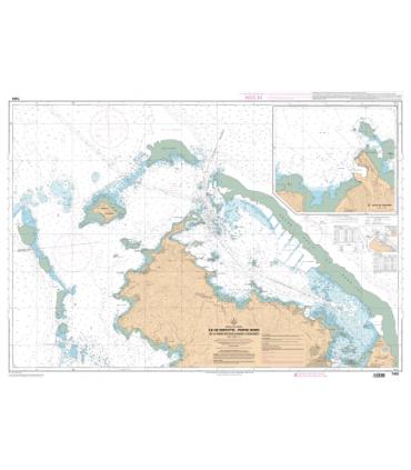 7492 - Ile de Mayotte - Partie Nord - De la Passe des Îles Choazil à Dzaoudzi