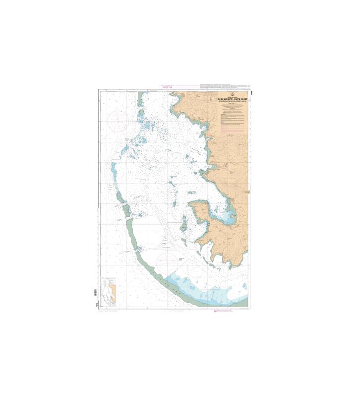7494 - Ile de Mayotte - Partie Ouest, De Chissioua Mbouini à la Baie d'Acoua