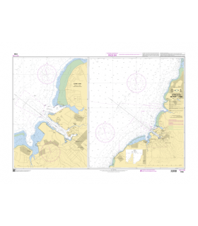 7799 - Approches de Port-Louis - Carte marine shom papier