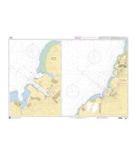 7799 - Approches de Port-Louis - Carte marine shom papier