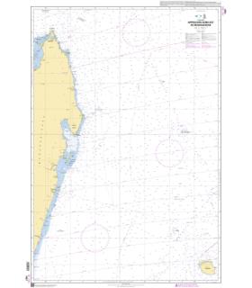 7487 - Approches Nord-Est de Madagascar - Carte marine Shom