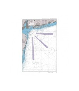 2755 Approaches to New York Harbour - Carte marine Admiralty