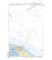 7544 - Approches de Port-Saïd (Bur Sa`id) - Carte marine Shom