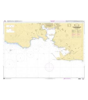 7642 - Puertos de Cartagena et Escombreras - Carte marine Shom