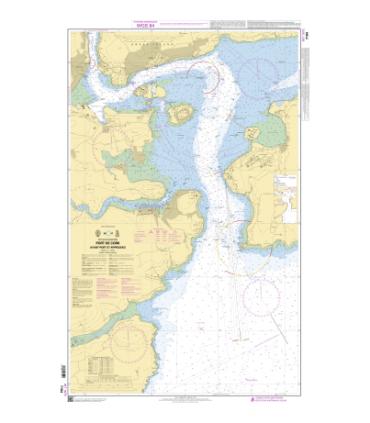 Carte Marine Shom Mer D Irlande Carte Marine Papier