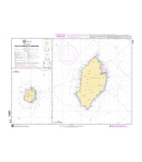 7773 Iles de Capraia et Gorgona - Carte marine papier
