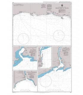 467 Bayajibe to Haina - Carte marine Admiralty