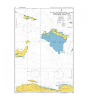 3907  Passages Between Mayaguana Island and Turks and Caicos Islands - Carte marine Admiralty