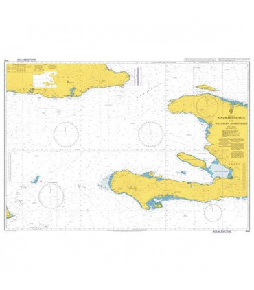 3935 Windward Passage and Southern Approaches - Carte marine Admiralty
