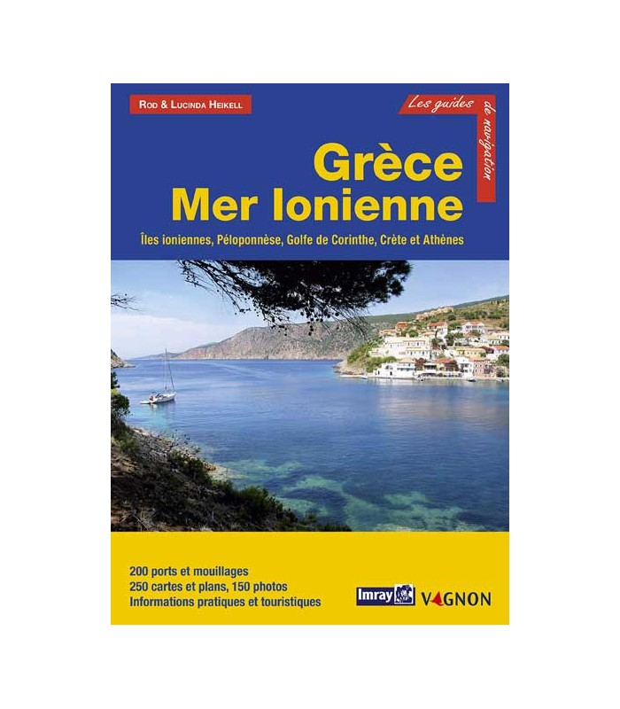 Guide Imray Grèce Mer Ionienne