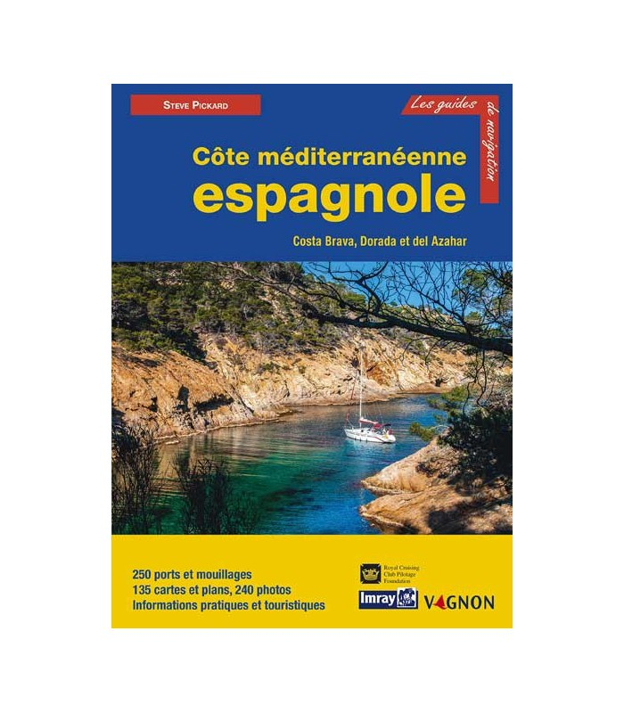 Guide Imray Côte méditerranéenne espagnole