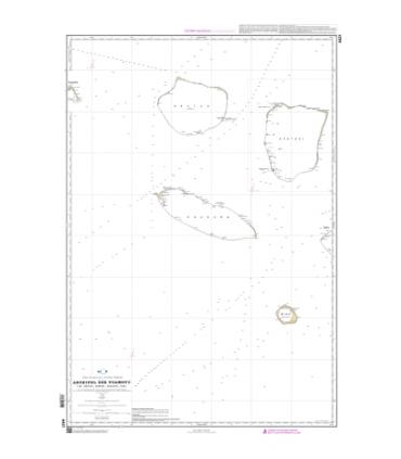 6421 - Îles Tuamotu - Îles Arutua, Apataki, Kaukura, Niau - Carte marine papier