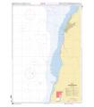 7832 - Approches de Kribi - Carte marine Shom papier