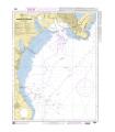 6804 - Abords de Cagliari - Carte marine Shom papier
